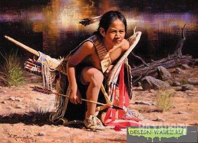 Исследования значимости игр в воспитании детей в индейских племенах