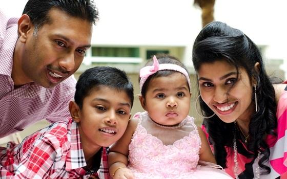 Воспитание в индийской семье